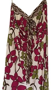 Trina Turk short dress White, Pink, Brown, Green, Fuchsia on Tradesy