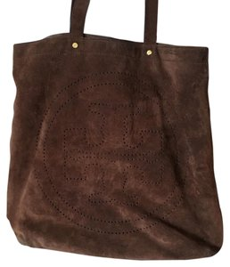 Tory Burch Shoulder Tote in Brown