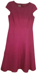 Anne Klein A-line Cap Sleeve Dress