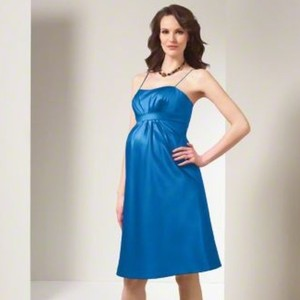 Alfred Angelo Marine Blue 7002ma Dress