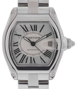 Cartier Cartier Roadster 2510 Stainless Steel Silver Dial Watch