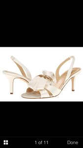 Kate Spade Ivory Formal Size US 8 Regular (M, B)