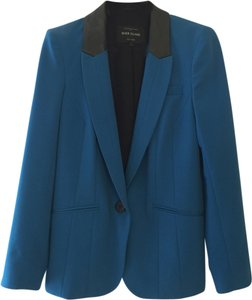 River Island Jacket Suit Cobalt Blue Teal 6 10 Uk Teal blue Blazer