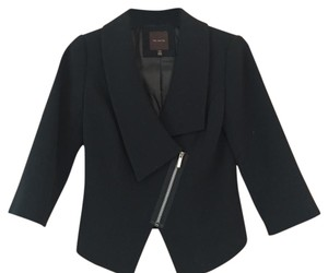 The Limited Asymmetrical Black Blazer