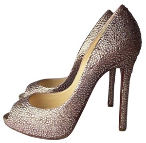 Christian Louboutin 7 7.5 Heels Strass gentle pink Pumps