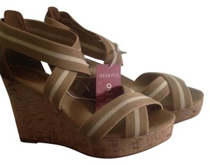 Merona Wedge Tan Wedges