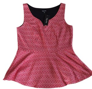 City Chic Top Cherry red