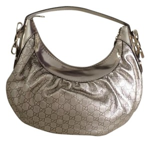 Gucci Leather Bows Hobo Bag