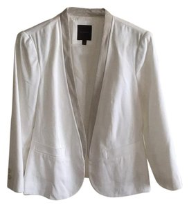The Limited White/Gray Blazer