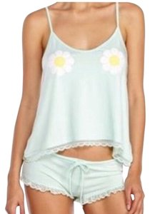 Wildfox Top Heavenly blue