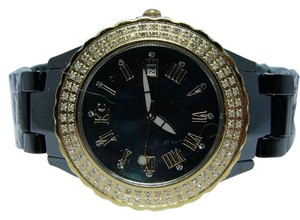 KC Womens ladies Techno Com Kc Ceramic Diamond Watch 1.5ct