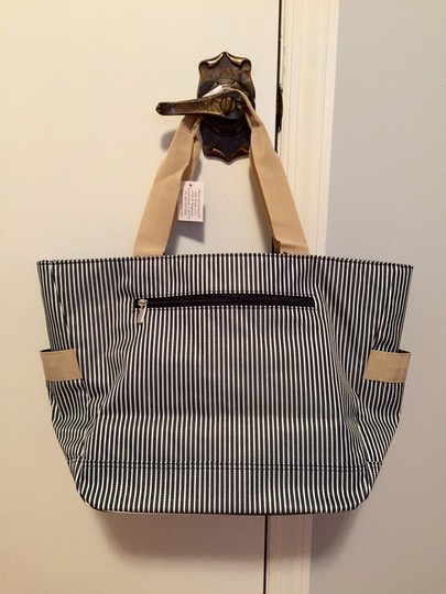 Other Tote in Navy & White