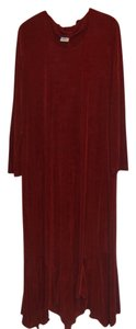 Rust Maxi Dress by Slinky Brand