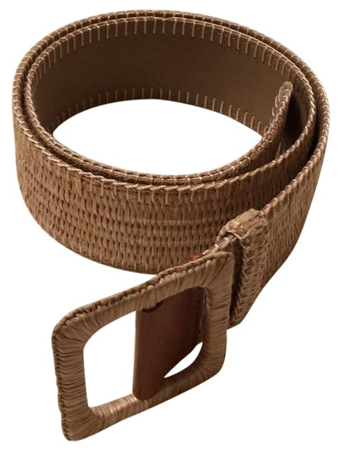 Item - Tan and Brown Leather Belt