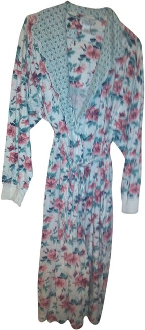 Earth Angels Robe Floral Cape