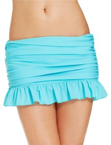 ISLAND ESCAPES ISLAND ESCAPES RUFFLED BOTTOM SKIRT. 12 L BLUE SKIRTINI
