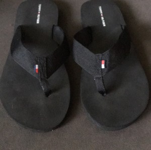 Tommy Hilfiger Black Sandals
