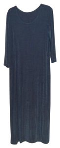 Blue Maxi Dress by Slinky Brand