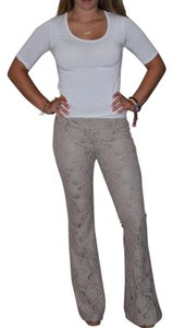 Georgie Super Flare Pants Taupe