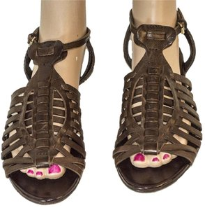 Burberry Leather brown Sandals