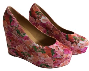 Bettye Muller Pink multi Wedges