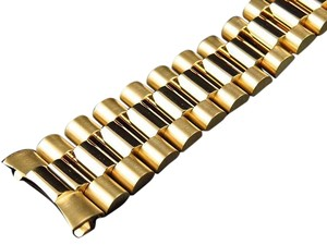 Other Mens President Watch Band For Rolex Day-date In 14k Yellow Gold 20 MM 56 Grams