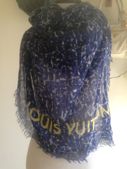 Louis Vuitton Louis Vuitton Etole / Stole Lizard Cashmere/Silk