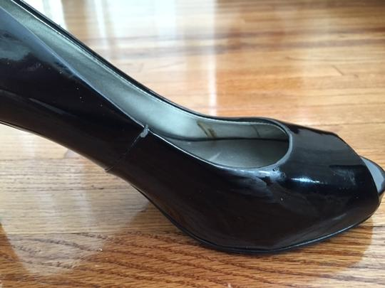 Guess Black Patent Pumps
