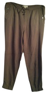 Michael Kors Size 6 Dry Clean 100% Rayon Athletic Pants gray taupe