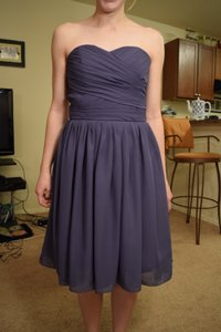 Deep Purple Bridesmaid Dress Dress