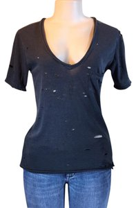 Free People T Shirt WASHED BLACK