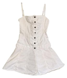 Dolce&Gabbana short dress White on Tradesy