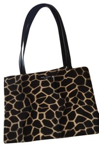 Kate Spade Medium Vintage Calf Hair Tote in Animal Print