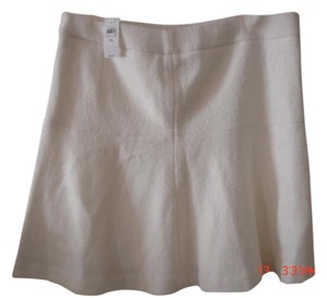 Ann Taylor Mini Skirt ivory