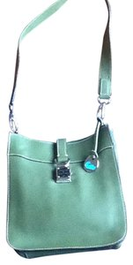 Dooney & Bourke Tote in Green, Silver