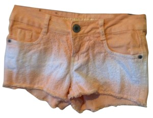 Mossimo Supply Co. Denim Dress Shorts Peach