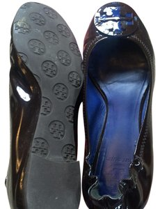 Tory Burch Brown and blue Flats