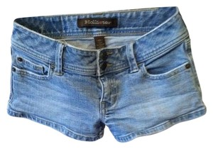 Hollister Cutoff Cut Off Shorts Denim