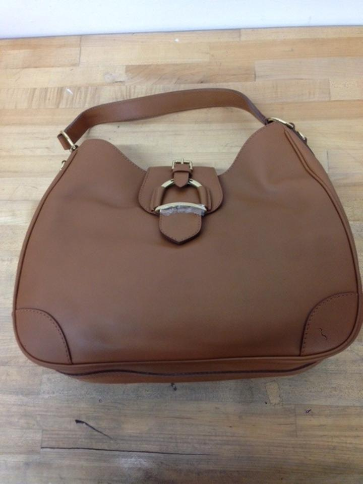 Ralph Lauren Soft Stirrup Leather Hobo Bag on Sale, 36% Off ...