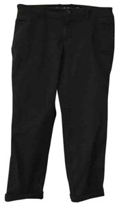 Gap Crop Capris Khakis Sale Capri/Cropped Pants black