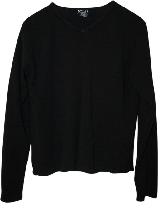 Preload https://item1.tradesy.com/images/new-york-and-company-black-ny-co-sweaterpullover-size-8-m-1564735-0-0.jpg?width=400&height=650