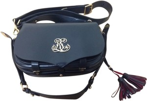 Ralph Lauren Luxury Black Messenger Bag