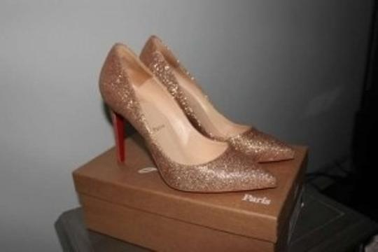 Christian Louboutin Glitter Pumps