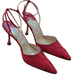 Manolo Blahnik Red Formal