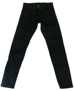 Lip Service Patchwork Slim-fit Stylish Casual Skinny Jeans-Dark Rinse