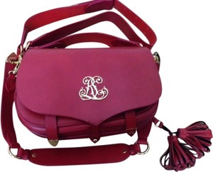 Ralph Lauren Luxury Red Messenger Bag