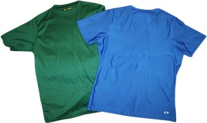Champion Athletic T Shirt Blue and Green