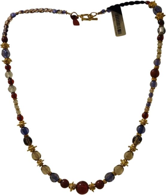 Banana Republic Multi-colored Multi Crystal Beaded Necklace Banana Republic Multi-colored Multi Crystal Beaded Necklace Image 1