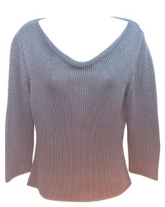 Brunello Cucinelli Gray Knit Top