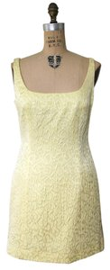 Escada Sleeveless Silk Embroidered Dress